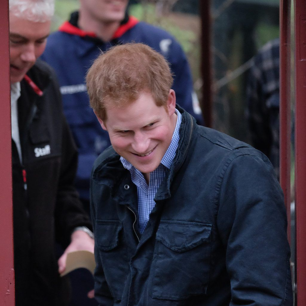 Prince Harry Visits Armed Forces And Veterans Launchpad