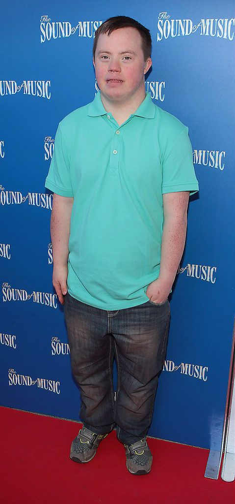 Brian Keaney at the  opening night of The Sound of Music at The Bord Gais Energy Theatre Dublin..Pictures:Brian McEvoy.
