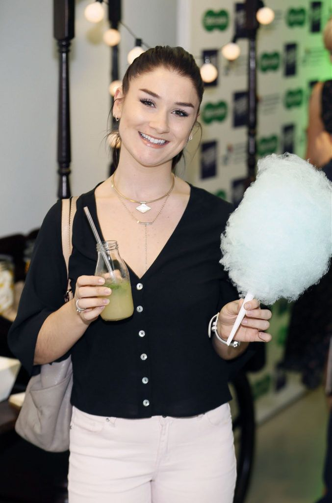 Amy Hamill at the Irish Spectacle Wearer of the Year competition hosted by Specsavers and held in the RHA-photo Kieran Harnett