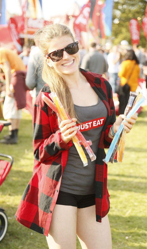 Aisling Sheerin at the JUST EAT Retreat at Electric Picnic -photo Kieran Harnett