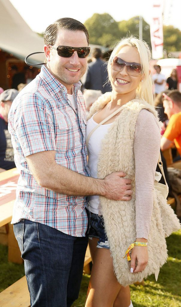 Philip Rice and Ailbhe O'Shaughnessy at the JUST EAT Retreat at Electric Picnic -photo Kieran Harnett