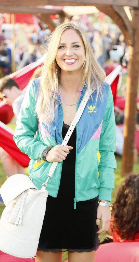 Maeve Monahan at the JUST EAT Retreat at Electric Picnic -photo Kieran Harnett