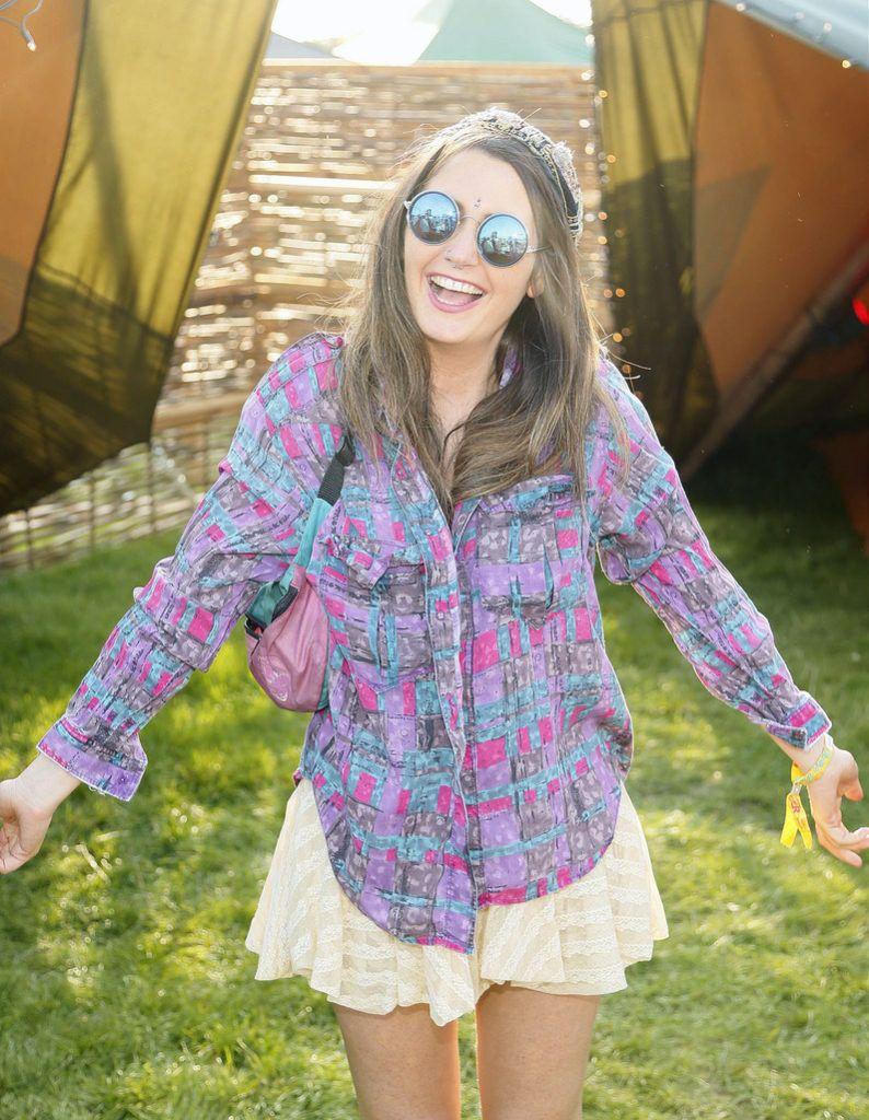 Ciara Hanley at the JUST EAT Retreat at Electric Picnic -photo Kieran Harnett