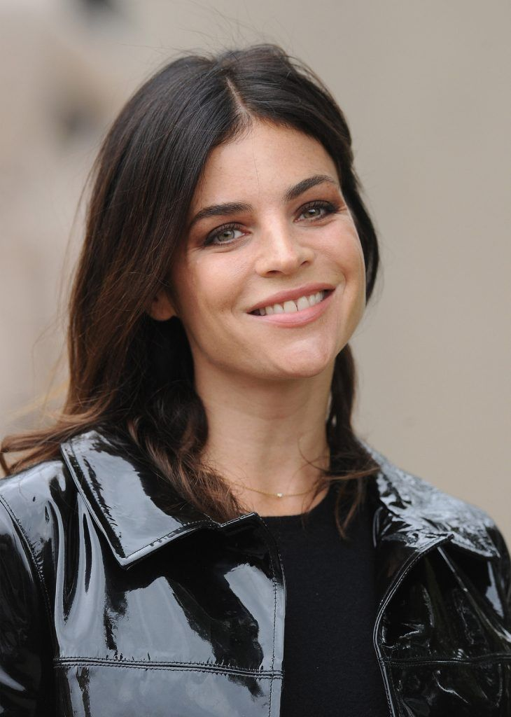 LONDON, ENGLAND - SEPTEMBER 21: Julia Restoin Roitfeld attends the Burberry Womenswear Spring/