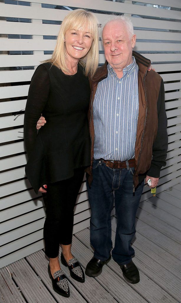 "Ann-Marie Nohl and Jim Sheridan at the launch of Neven Maguire's cookbook ""The Nation's favourite Healthy Food"" at Eathos in Upper Baggot Street,Dublin..Picture :Brian Mcevoy."