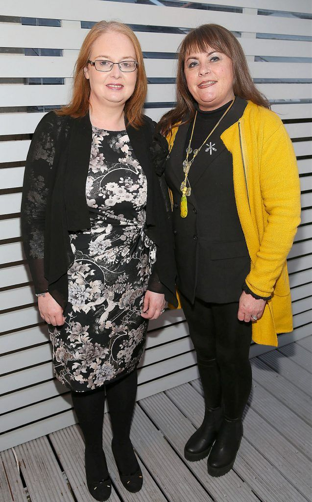 "Elaine McKay Vaughan and Irene Henkles at the launch of Neven Maguire's cookbook ""The Nation's favourite Healthy Food"" at Eathos in Upper Baggot Street,Dublin..Picture :Brian Mcevoy"