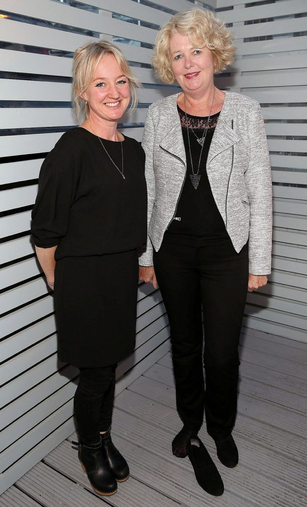 "Joanne Murphy and Hilda Adams at the launch of Neven Maguire's cookbook ""The Nation's favourite Healthy Food"" at Eathos in Upper Baggot Street,Dublin..Picture :Brian Mcevoy"