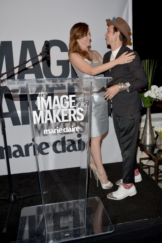 The inaugural image maker awards hosted by marie claire for Adir abergel salon