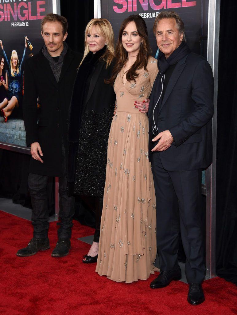 New York, Ny  February 03: (lr) Actors Jesse Johnson, Melanie