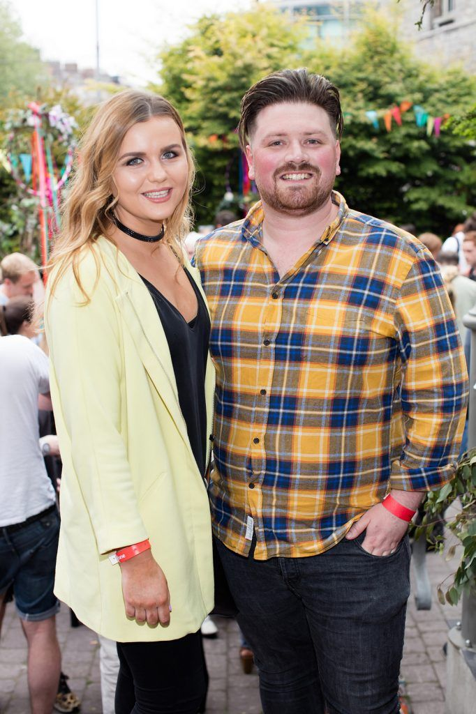 Eimear Deane & Thomas Crosse pictured at the Vodafone Comedy Festival launch at The Odeon.   Photo: Anthony Woods