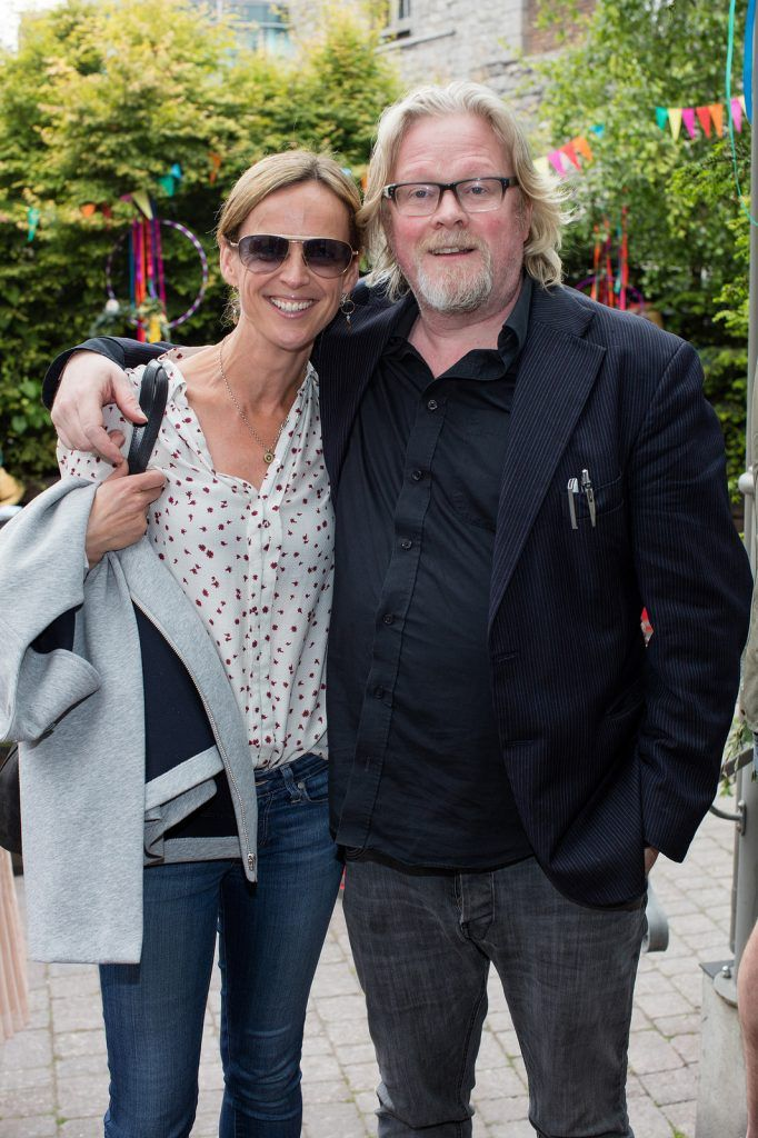 Christina Dwyer & Kevin Gildea pictured at the Vodafone Comedy Festival launch at The Odeon.   Photo: Anthony Woods
