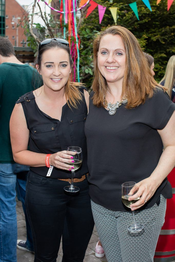 Gemma Bell & Ruth Scott pictured at the Vodafone Comedy Festival launch at The Odeon.   Photo: Anthony Woods