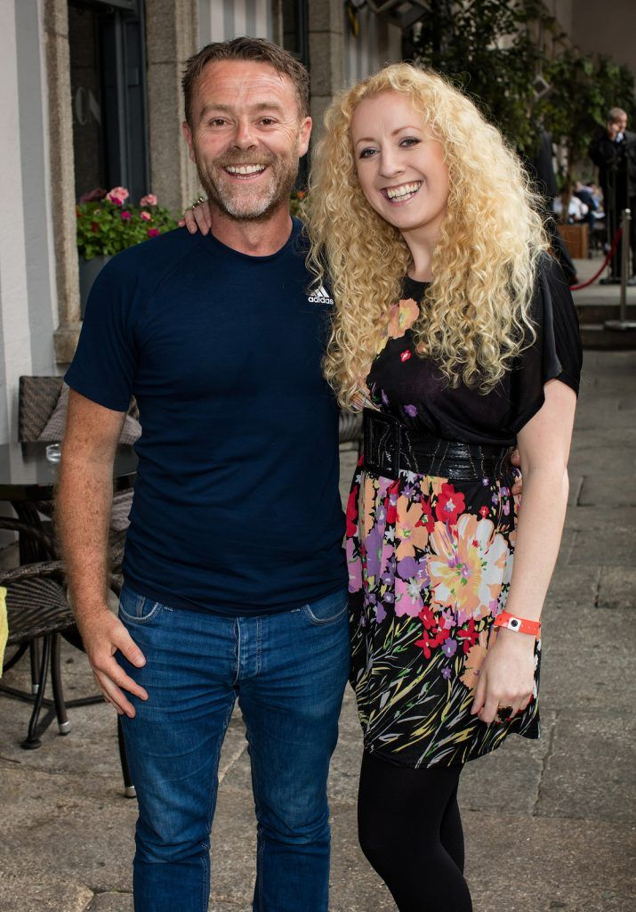 Eric Lalor & Niamh Marron pictured at the Vodafone Comedy Festival launch at The Odeon.   Photo: Anthony Woods