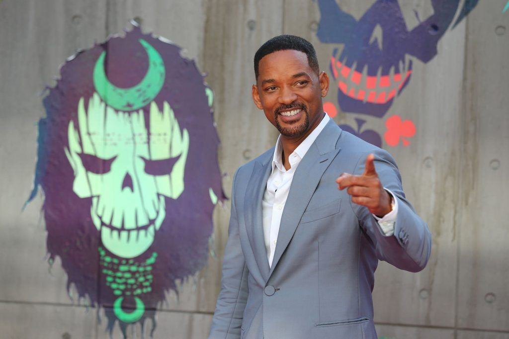 US actor Will Smith poses as he arrives to attend the European premiere of the film Suicide Squad in central London on August 3, 2016.  / AFP / JUSTIN TALLIS        (Photo credit JUSTIN TALLIS/AFP/Getty Images)