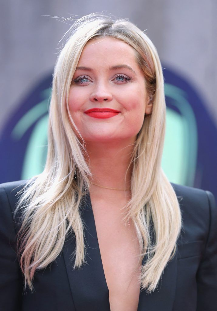 "Laura Whitmore attends the European Premiere of ""Suicide Squad"" at the Odeon Leicester Square on August 3, 2016 in London, England.  (Photo by Chris Jackson/Getty Images)"