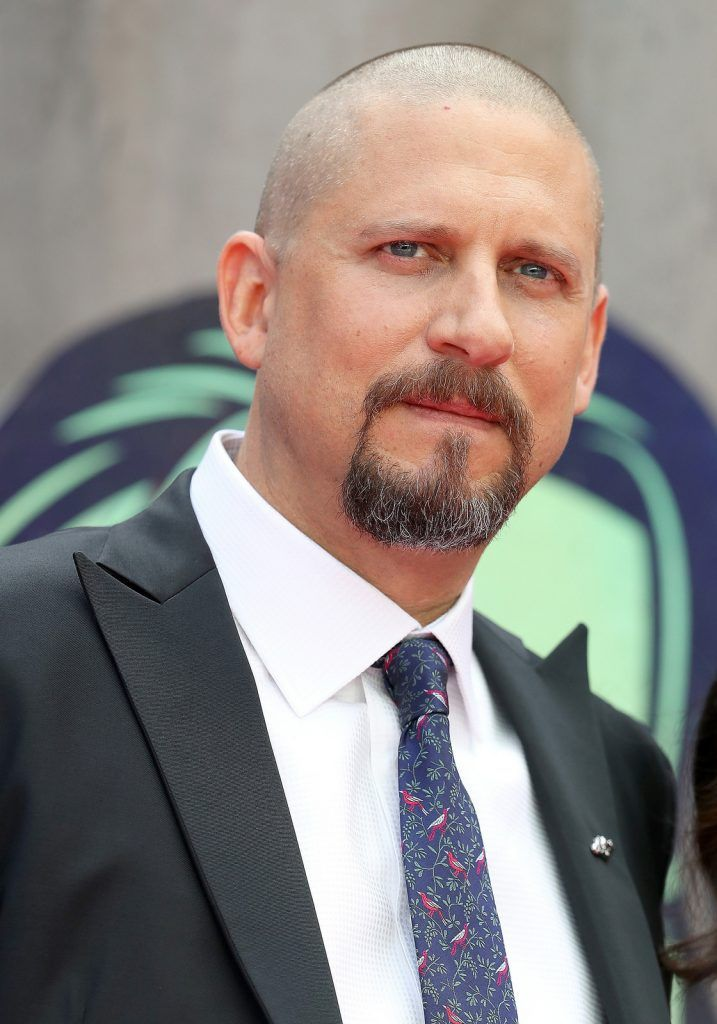 "Director David Ayer attends the European Premiere of ""Suicide Squad"" at the Odeon Leicester Square on August 3, 2016 in London, England.  (Photo by Chris Jackson/Getty Images)"