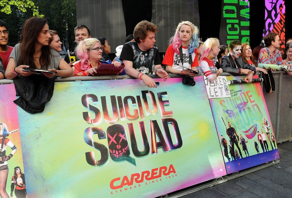 Suicide Squad European Premiere sponsored by Carrera on August 3, 2016 in London, England.  (Photo by Stuart C. Wilson/Getty Images for carrera)