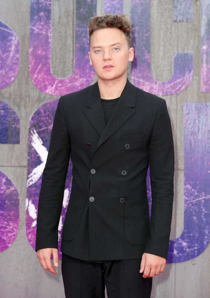 "Conor Maynard  attends the European Premiere of ""Suicide Squad"" at the Odeon Leicester Square on August 3, 2016 in London, England.  (Photo by Chris Jackson/Getty Images)"