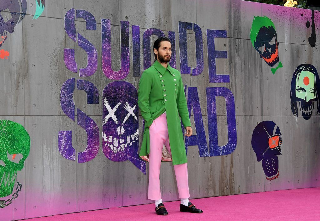 Jared Leto attends the Suicide Squad European Premiere sponsored by Carrera on August 3, 2016 in London, England.  (Photo by Stuart C. Wilson/Getty Images for carrera)