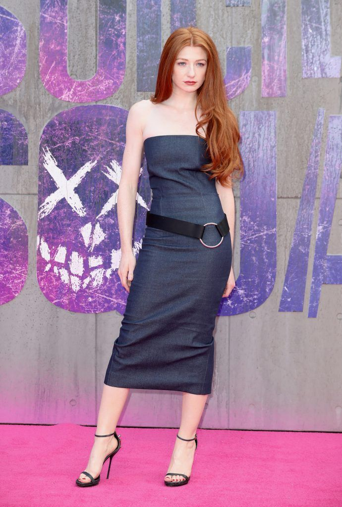 "Nicola Roberts attends the European Premiere of ""Suicide Squad"" at the Odeon Leicester Square on August 3, 2016 in London, England.  (Photo by Chris Jackson/Getty Images)"