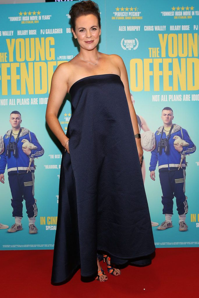 Hilary Rose at the Irish premiere screening of The Young Offenders at Cineworld, Dublin (Photo by Brian McEvoy).