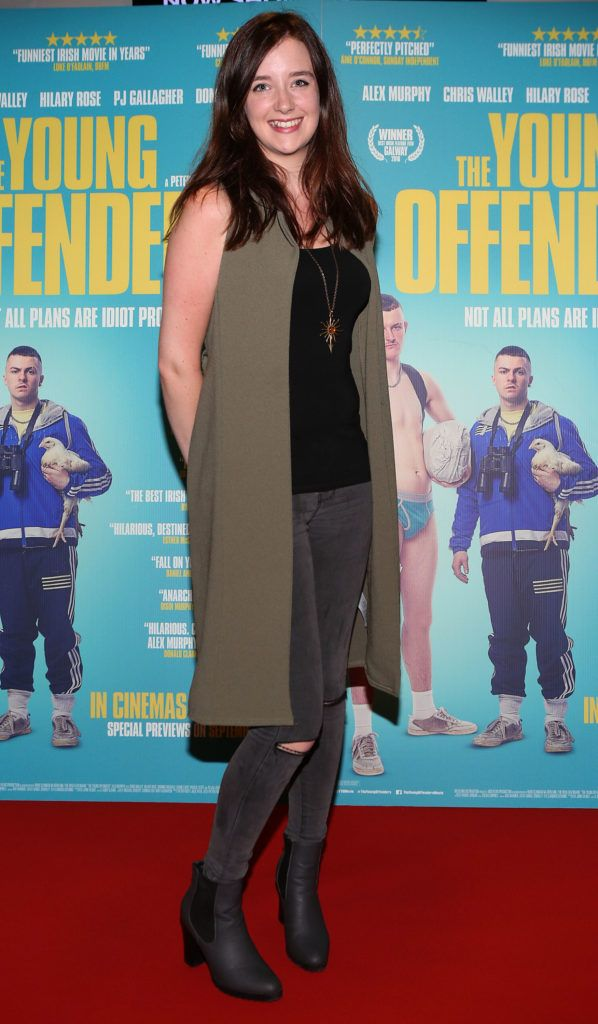 Jenny Hurley at the Irish premiere screening of The Young Offenders at Cineworld, Dublin (Photo by Brian McEvoy).