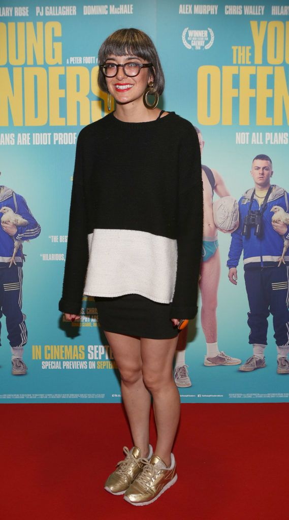 Suri Grennell at the Irish premiere screening of The Young Offenders at Cineworld, Dublin (Photo by Brian McEvoy).