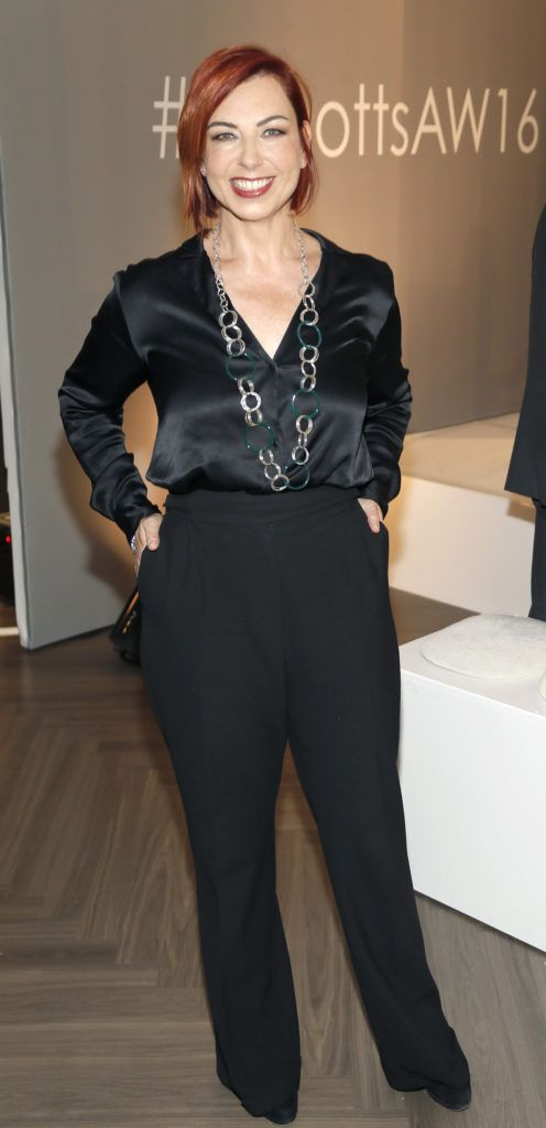 Roisin NiMhordha  at the launch of Peter O Brien for Arnotts collection and the Arnotts Autumn Winter 2016 launch (Photo by Kieran Harnett).
