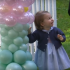 Too cute! Princess Charlotte loves balloons more than you love anything