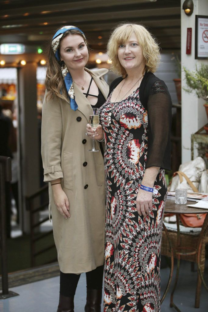 Michelle Daly and Margaret Scully, pictured at the launch of MAGPIE MAGAZINE held in House, Lesson Street, Dublin.  Pic. Conor McCabe Photography