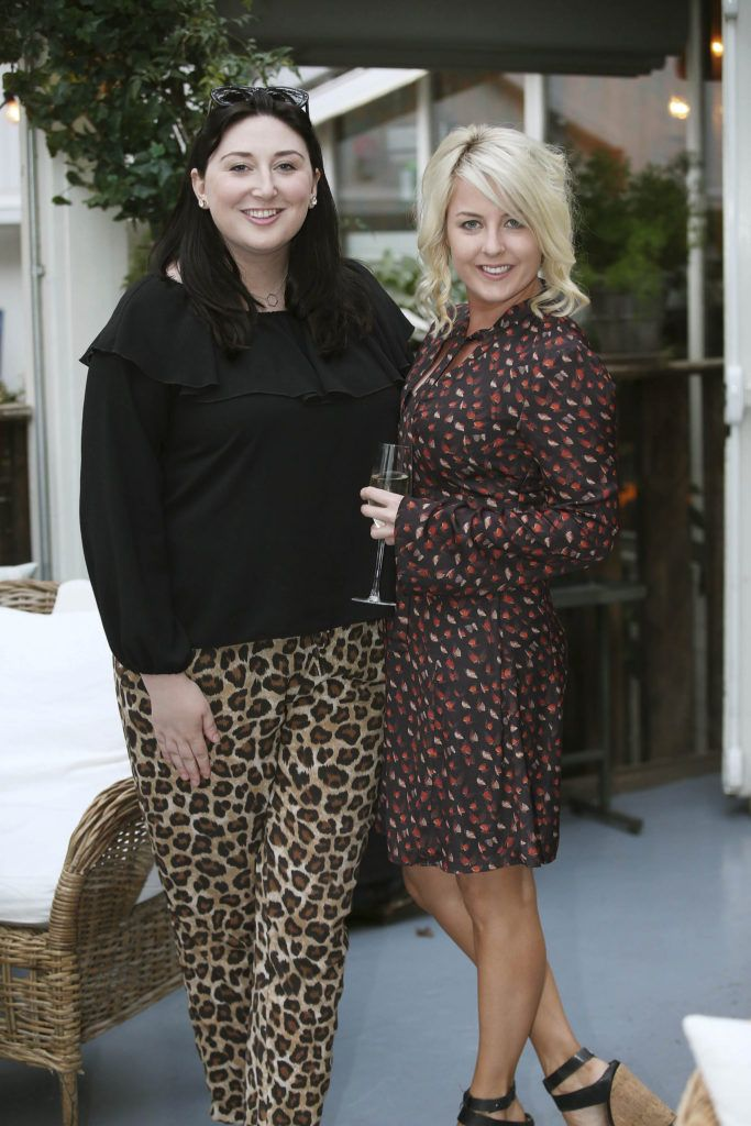 Kate O'Toole and Rebecca Brady, pictured at the launch of MAGPIE MAGAZINE held in House, Lesson Street, Dublin.   Pic. Conor McCabe Photography
