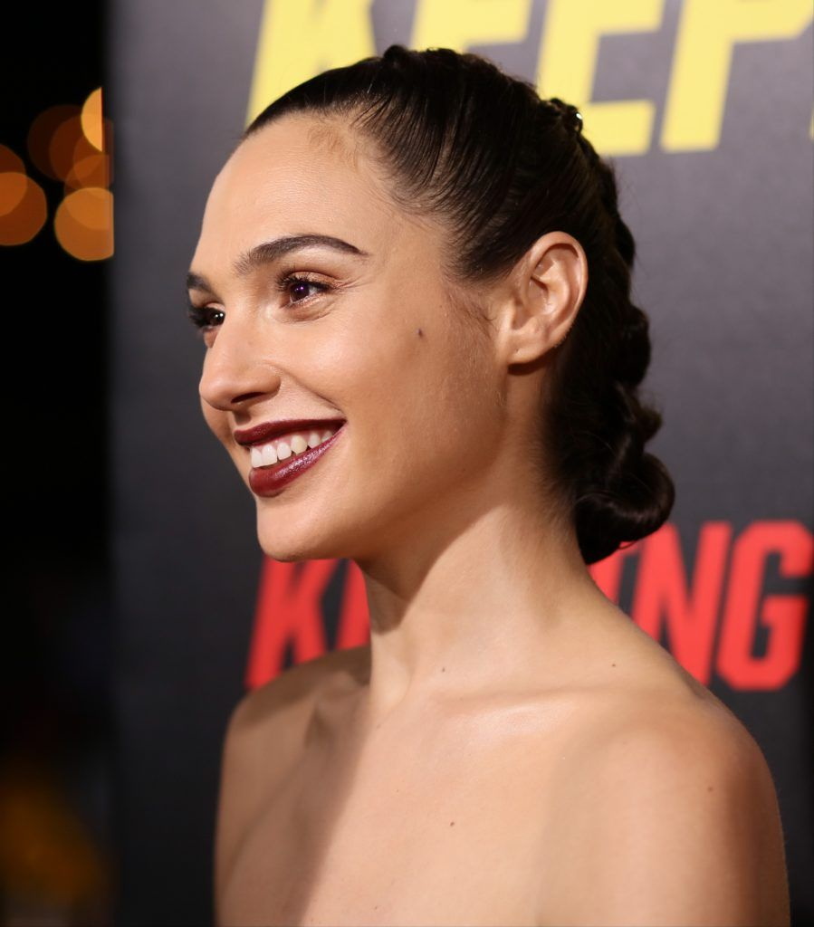 Gal Gadot attends 'Keeping up with the Joneses' in Los Angeles, California, on October 8, 2016. (Photo JEAN BAPTISTE LACROIX/AFP/Getty Images)