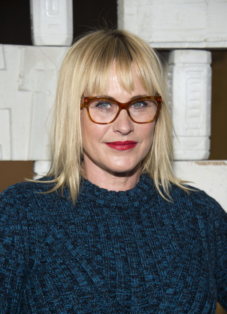 Actress Patricia Arquette attends the Hammer Museum Gala in the Garden honoring Laurie Anderson and Todd Haynes, in Westwood, California, on October 8, 2016. (Photo VALERIE MACON/AFP/Getty Images)