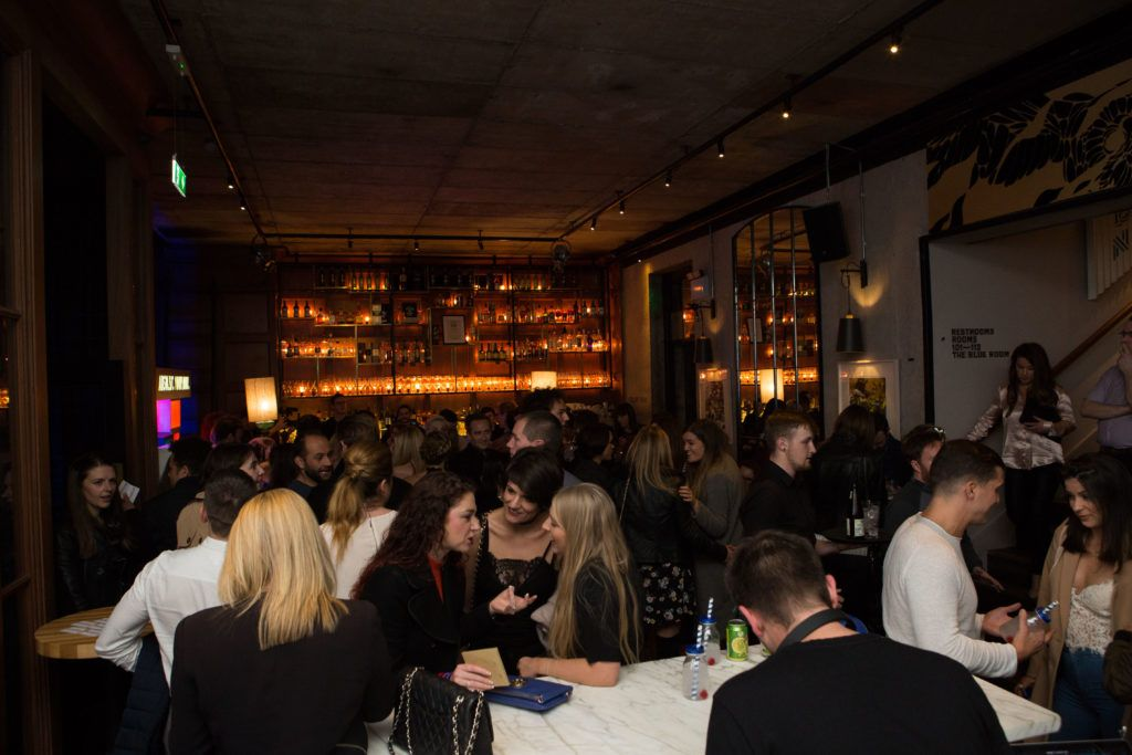 Highline at Sophie's in The Dean, a New York Late Night Vibe in Dublin's only rooftop venue. Photo by Richie Stokes