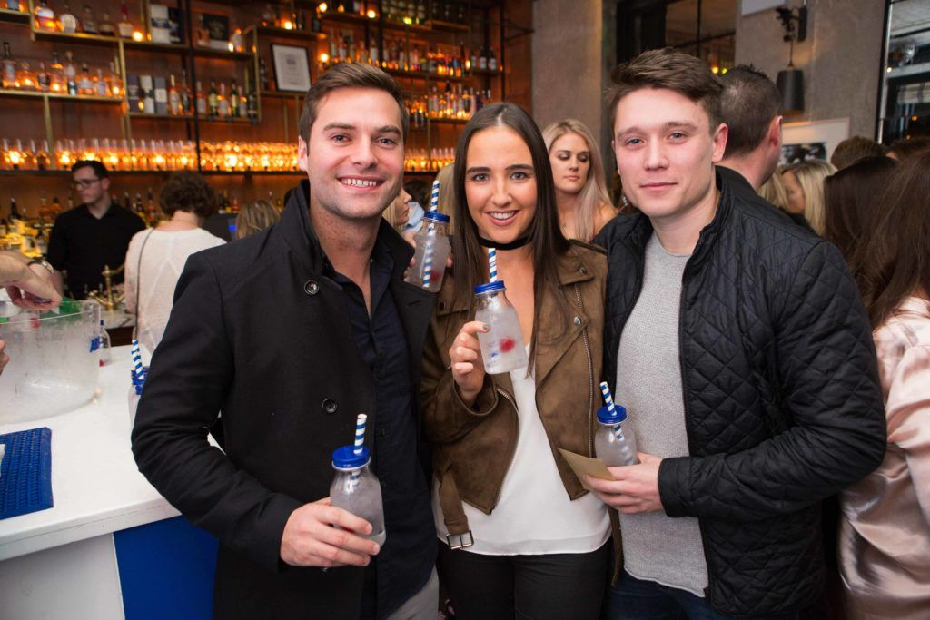 Eimear Mc Crann and Michael Mc Laughlin enjoying Highline at Sophieâs in The Dean, a New York Late Night Vibe in Dublin's only rooftop venue.Photo by Richie Stokes