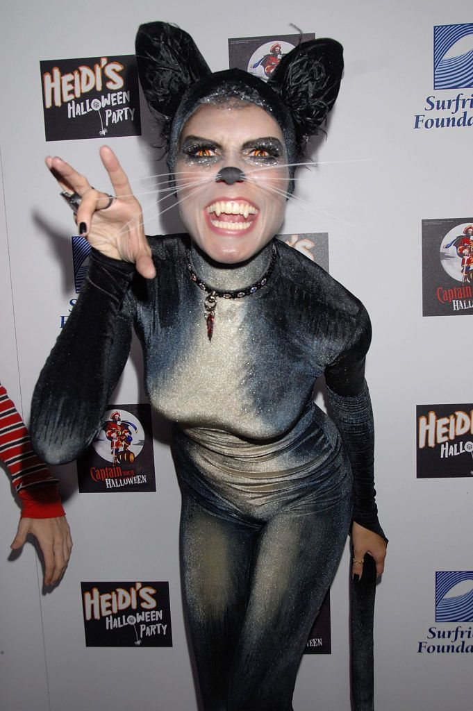 model heidi klum attends her 8th annual halloween party at the green door on october 31