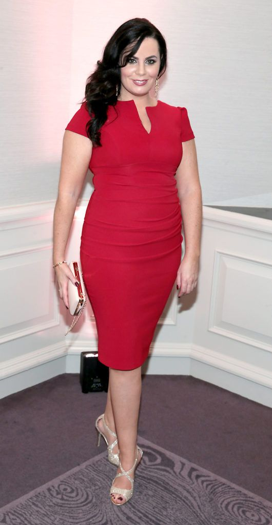 Audrey McGrath at the Lancome Christmas Celebration at the Westbury Hotel, Dublin (Pictures: Brian McEvoy).