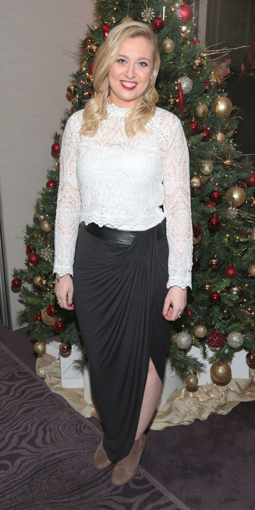 Andrea Kissane at the Lancome Christmas Celebration at the Westbury Hotel, Dublin (Pictures: Brian McEvoy).
