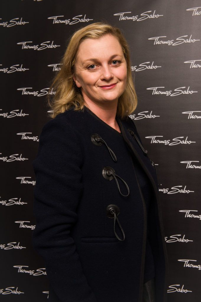 Sarah McDonnell  pictured at the Thomas Sabo Spring Summer 2017 collection presentation at The Westbury Hotel, Grafton St on Tuesday 13th Dec. 2016. Photo by Kevin Mcfeely