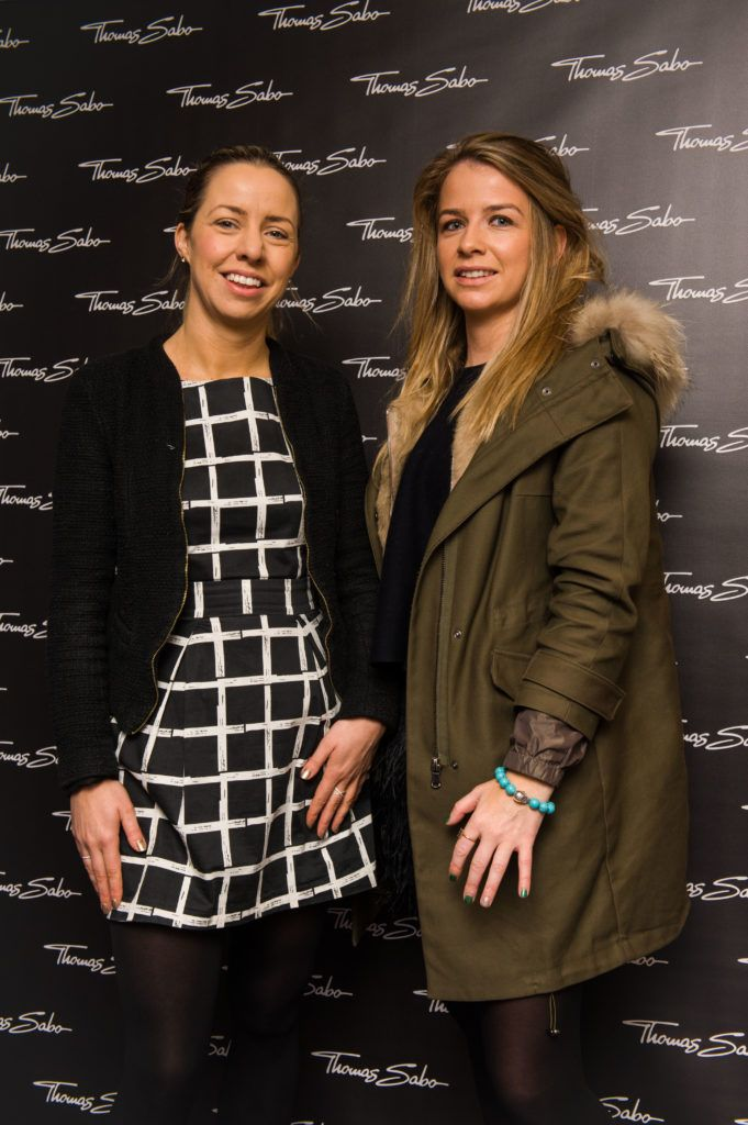 Lisa Freeman and Lucinda Andrews pictured at the Thomas Sabo Spring Summer 2017 collection presentation at The Westbury Hotel, Grafton St on Tuesday 13th Dec. 2016. Photo by Kevin Mcfeely