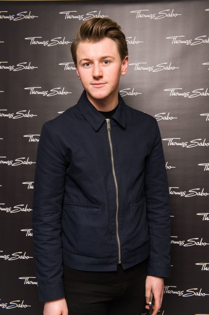 Alex Lawrence pictured at the Thomas Sabo Spring Summer 2017 collection presentation at The Westbury Hotel, Grafton St on Tuesday 13th Dec. 2016. Photo by Kevin Mcfeely