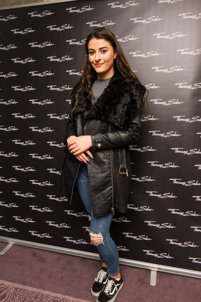 Katie D'Arcy pictured at the Thomas Sabo Spring Summer 2017 collection presentation at The Westbury Hotel, Grafton St on Tuesday 13th Dec. 2016. Photo by Kevin Mcfeely