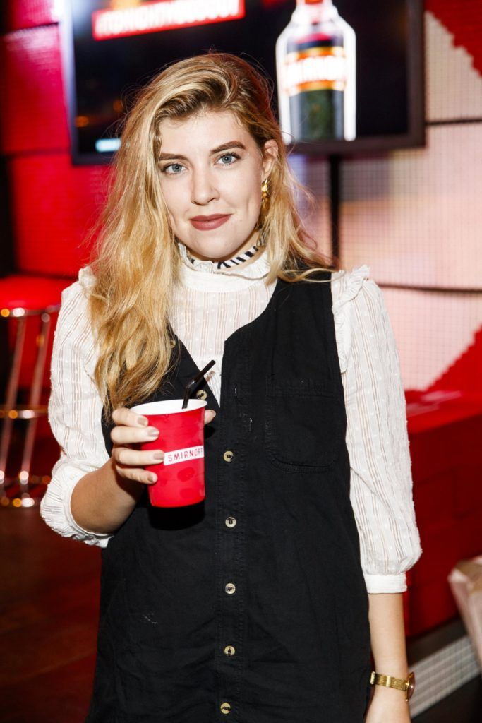 Emma Nolan pictured at the Smirnoff 'We're Open' event in Panti Bar in Dublin, hosted by Panti Bliss. Picture Andres Poveda