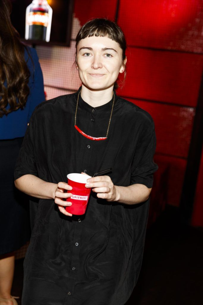 Elaine Burke pictured at the Smirnoff 'We're Open' event in Panti Bar in Dublin, hosted by Panti Bliss. Picture Andres Poveda