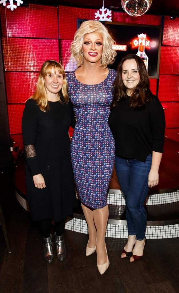 Pictured at the Smirnoff 'We're Open' event in Panti Bar in Dublin, hosted by Panti Bliss. Picture Andres Poveda