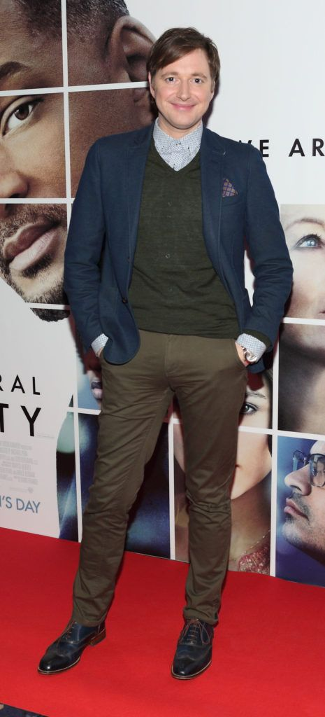 Norman Pratt at the Irish premiere screening of Will Smith's film Collateral Beauty at Cineworld, Dublin (Picture Brian McEvoy).