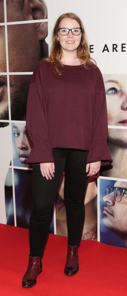 Leah Kilcullen at the Irish premiere screening of Will Smith's film Collateral Beauty at Cineworld, Dublin (Picture Brian McEvoy).
