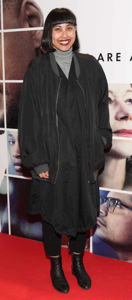 Janet Takuz at the Irish premiere screening of Will Smith's film Collateral Beauty at Cineworld, Dublin (Picture Brian McEvoy).