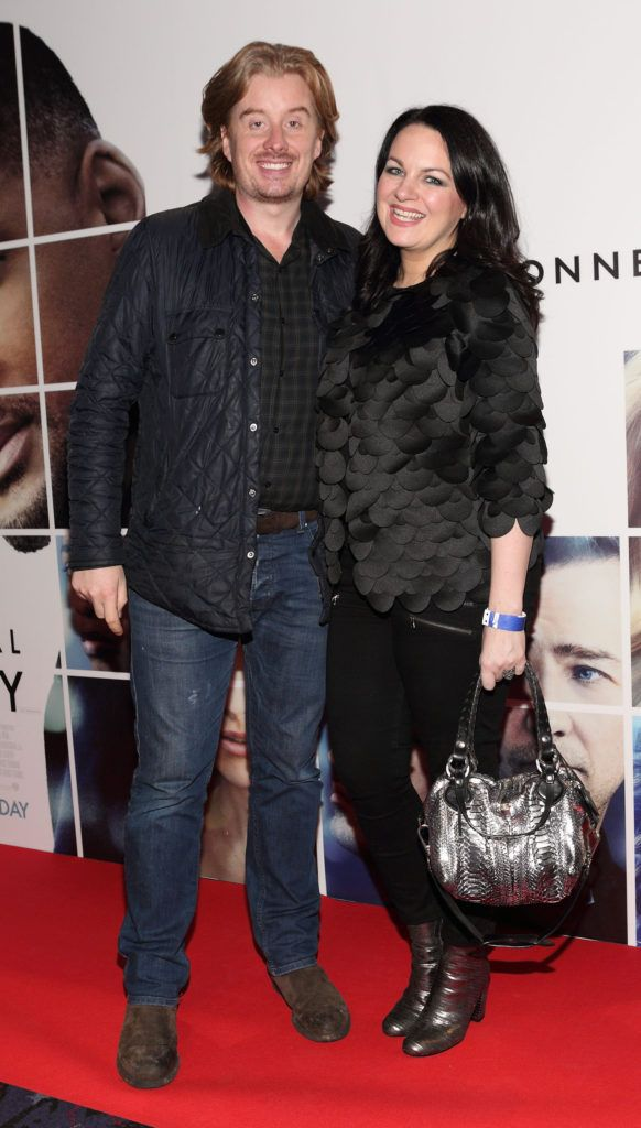 William White and Triona McCarthy at the Irish premiere screening of Will Smith's film Collateral Beauty at Cineworld, Dublin (Picture Brian McEvoy).