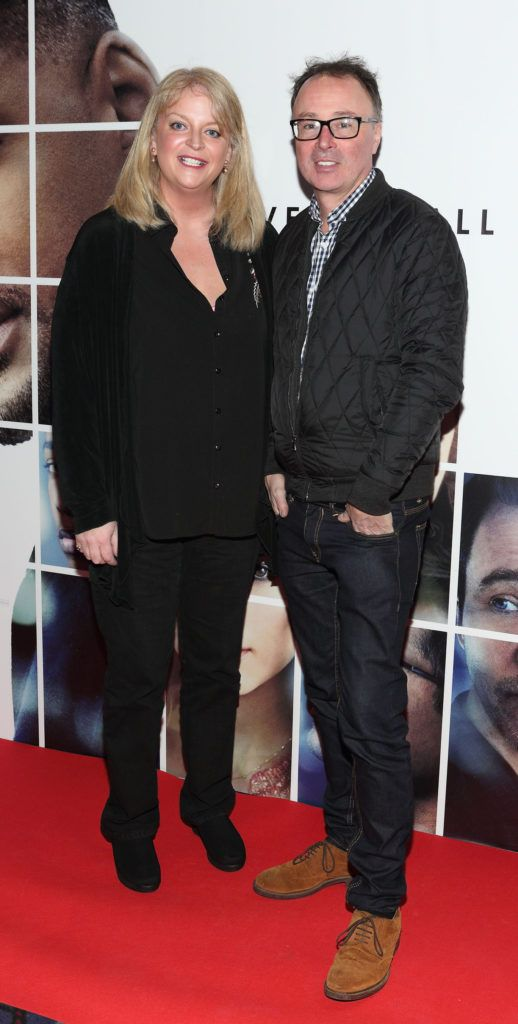 Rosemary Walsh and John O'Brien at the Irish premiere screening of Will Smith's film Collateral Beauty at Cineworld, Dublin (Picture Brian McEvoy).